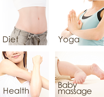 diet yoga health babymassage